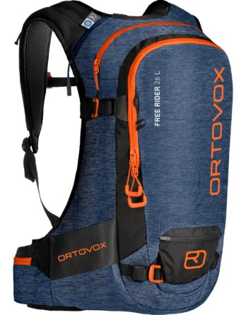 Front View – Ortovox Freerider 26 – Night Blue Blend