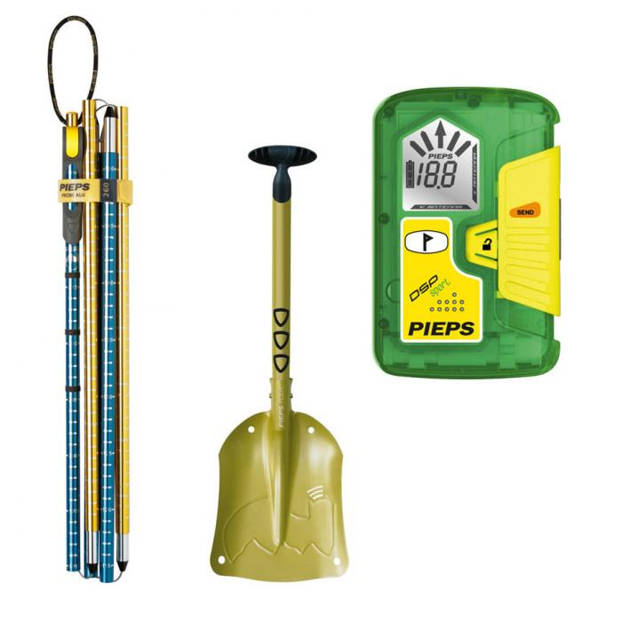 Pieps DSP Sport Package - Shovel, Probe and Transceiver