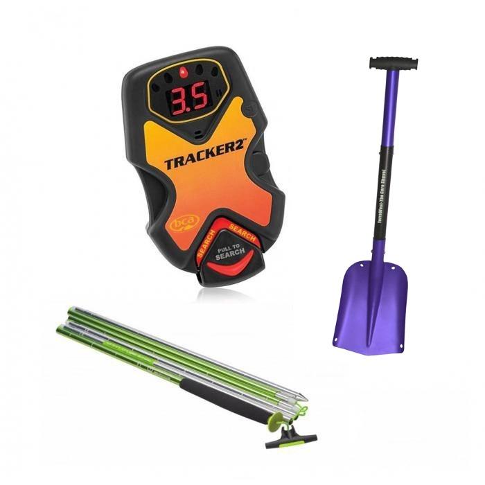 BCA DTS Tracker 2 Package - Ortovox 240 Light PFA Probe - Terrawest Core shovel