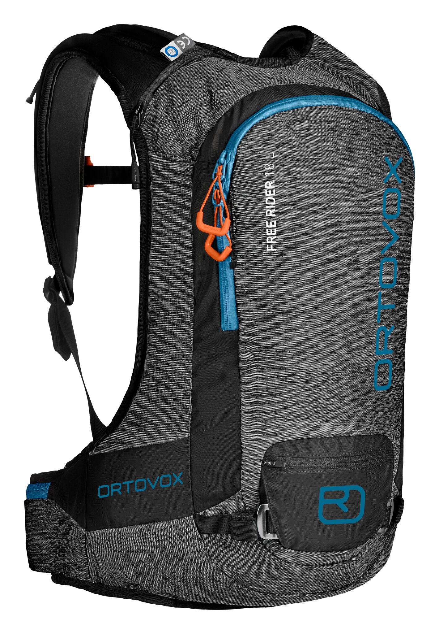 Ortovox Freerider 18L - Dark Grey Blend - Front View