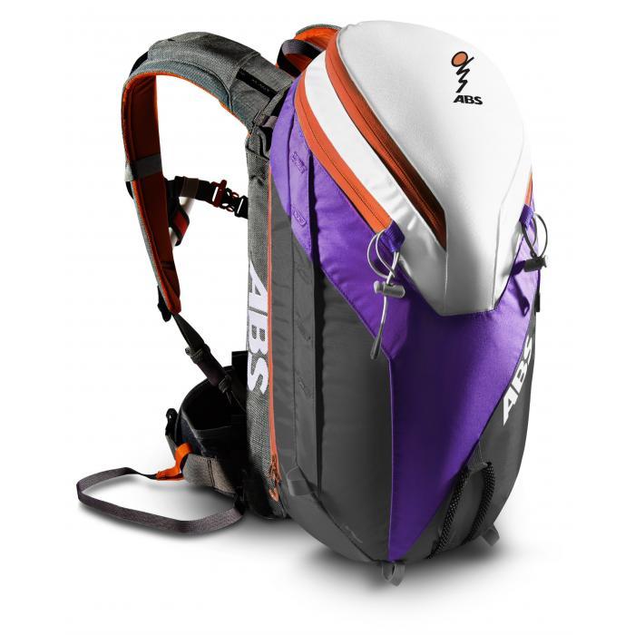 26L Zip-on (Purple/Orange) + ABS Powder Base Unit + 2 Steel Canisters