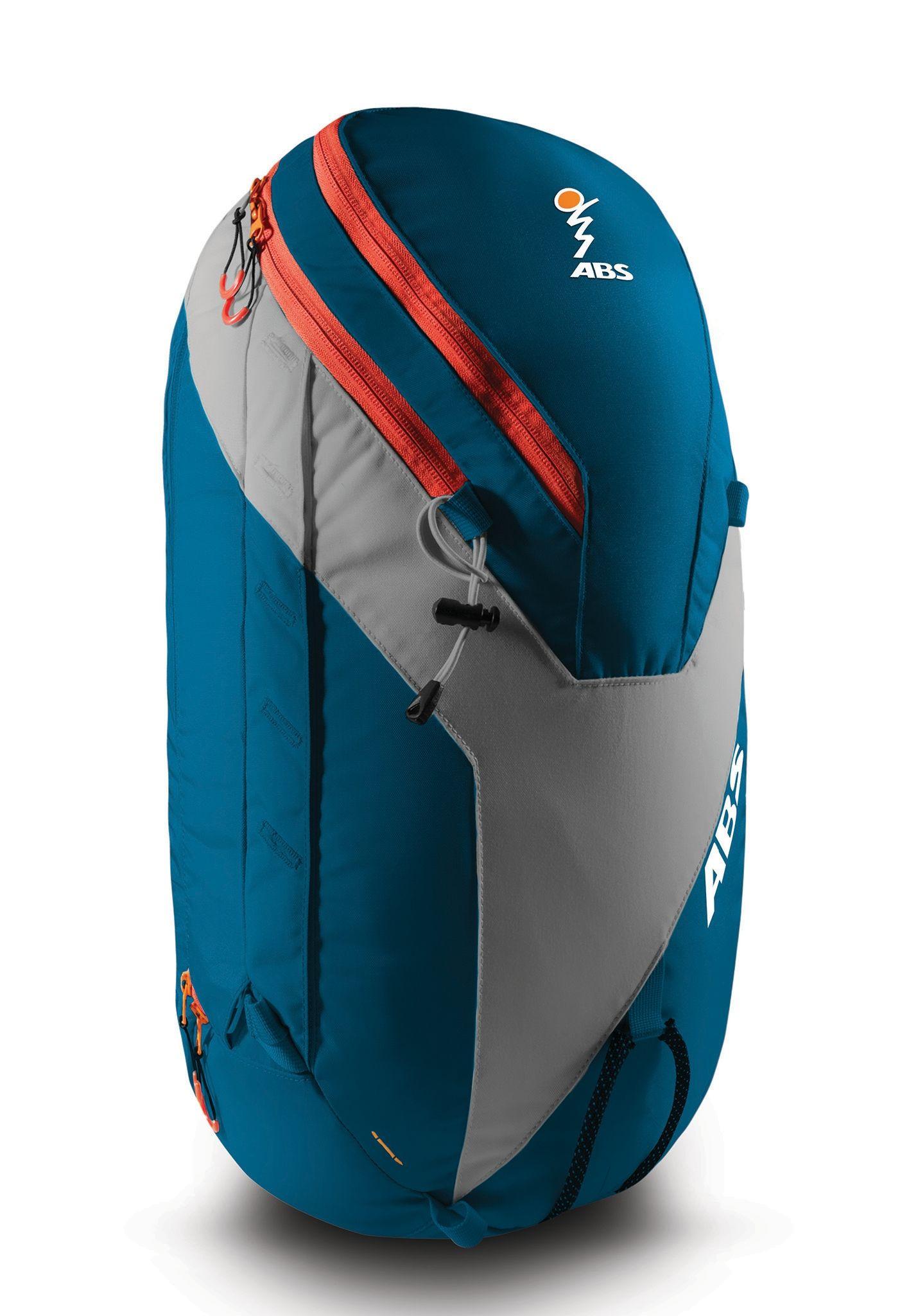 ABS Vario 32L Zip-on - Blue/Orange - Front View