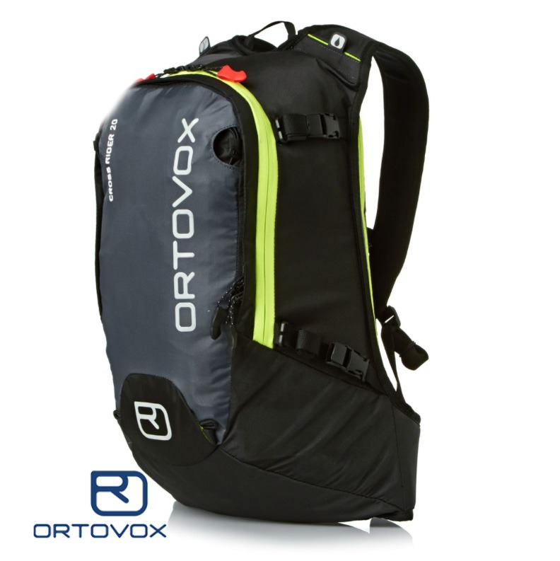 The Ortovox cross rider 20 is a small slim line backpack perfect for backcountry and freeriding.