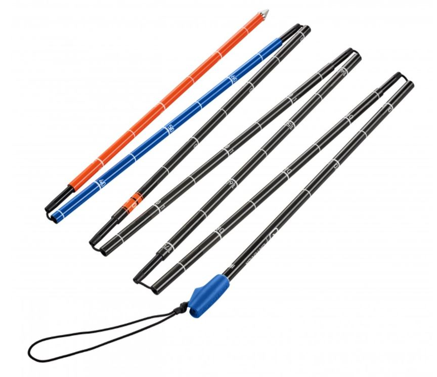 Ortovox Carbon 240 Superlight Probe - Folds Into Seven Sections for Efficient Portability