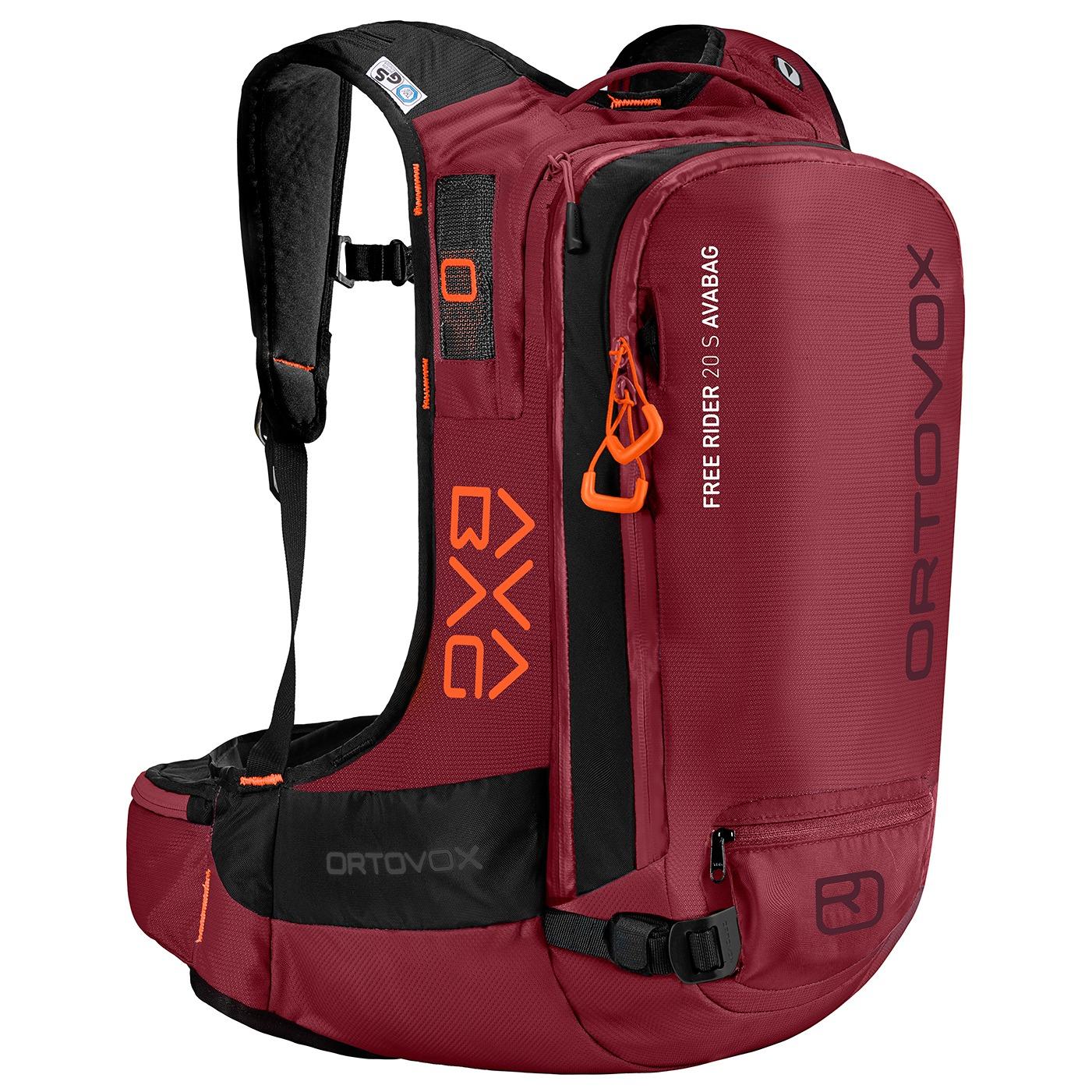 Ortovox Free Rider 20 S Avabag - Dark Blood