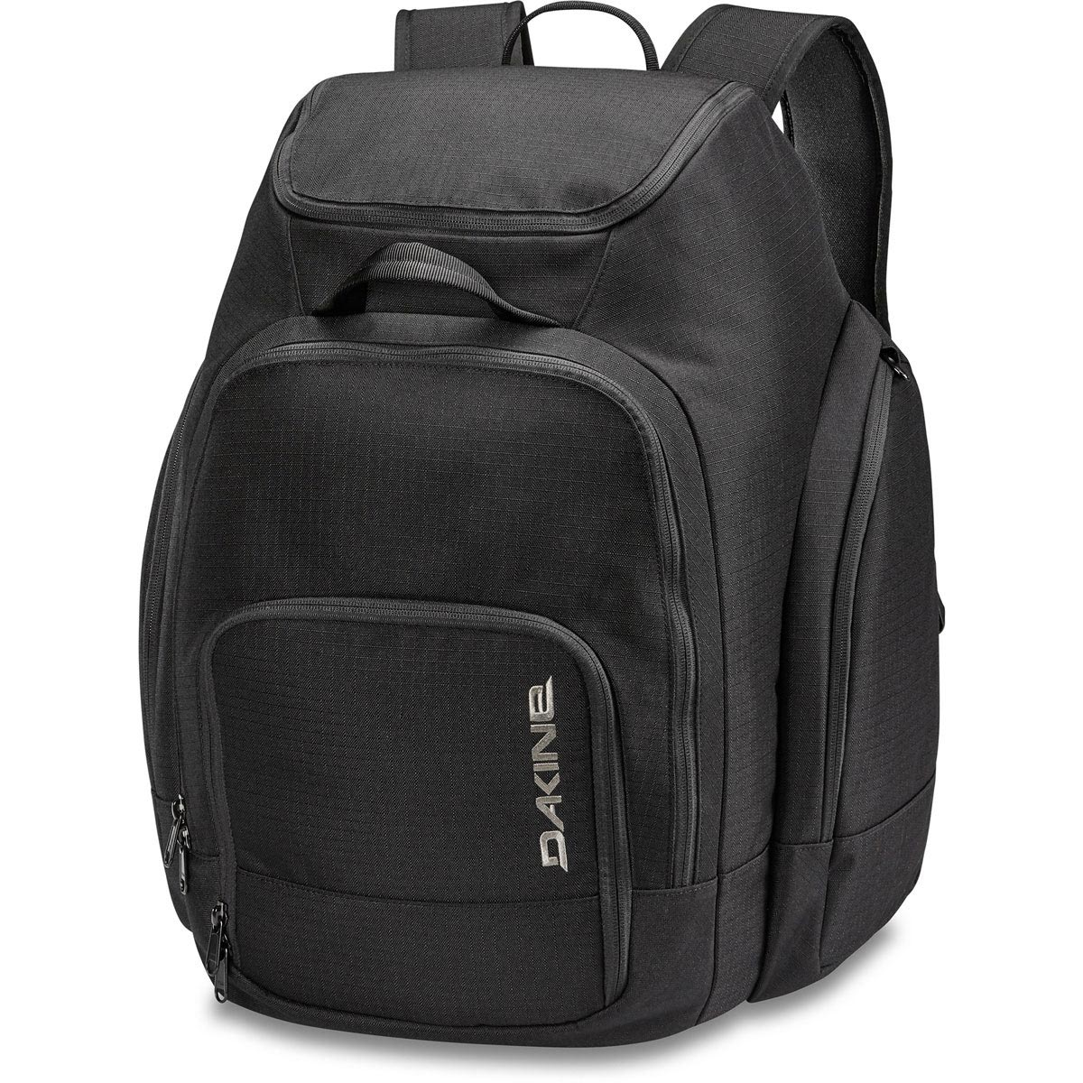Front View - Dakine boot pack DLX 55L - Black