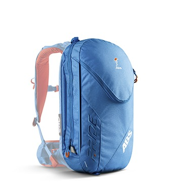 ABS P.Ride 18L Zip-on Backpack Only - Ocean Blue