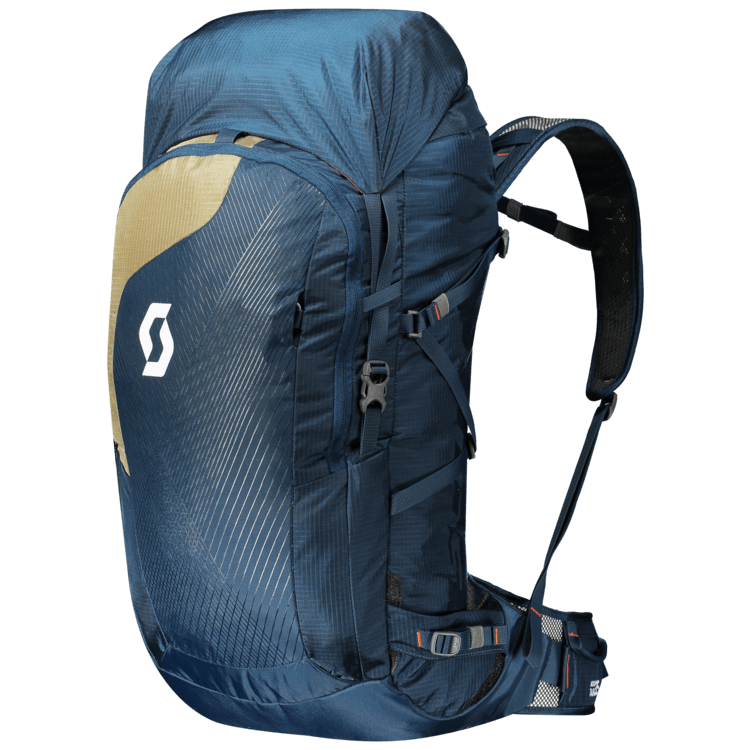 Front View - Eclipse Blue/Sahara Bei - Scott Mountain 35 Backpack