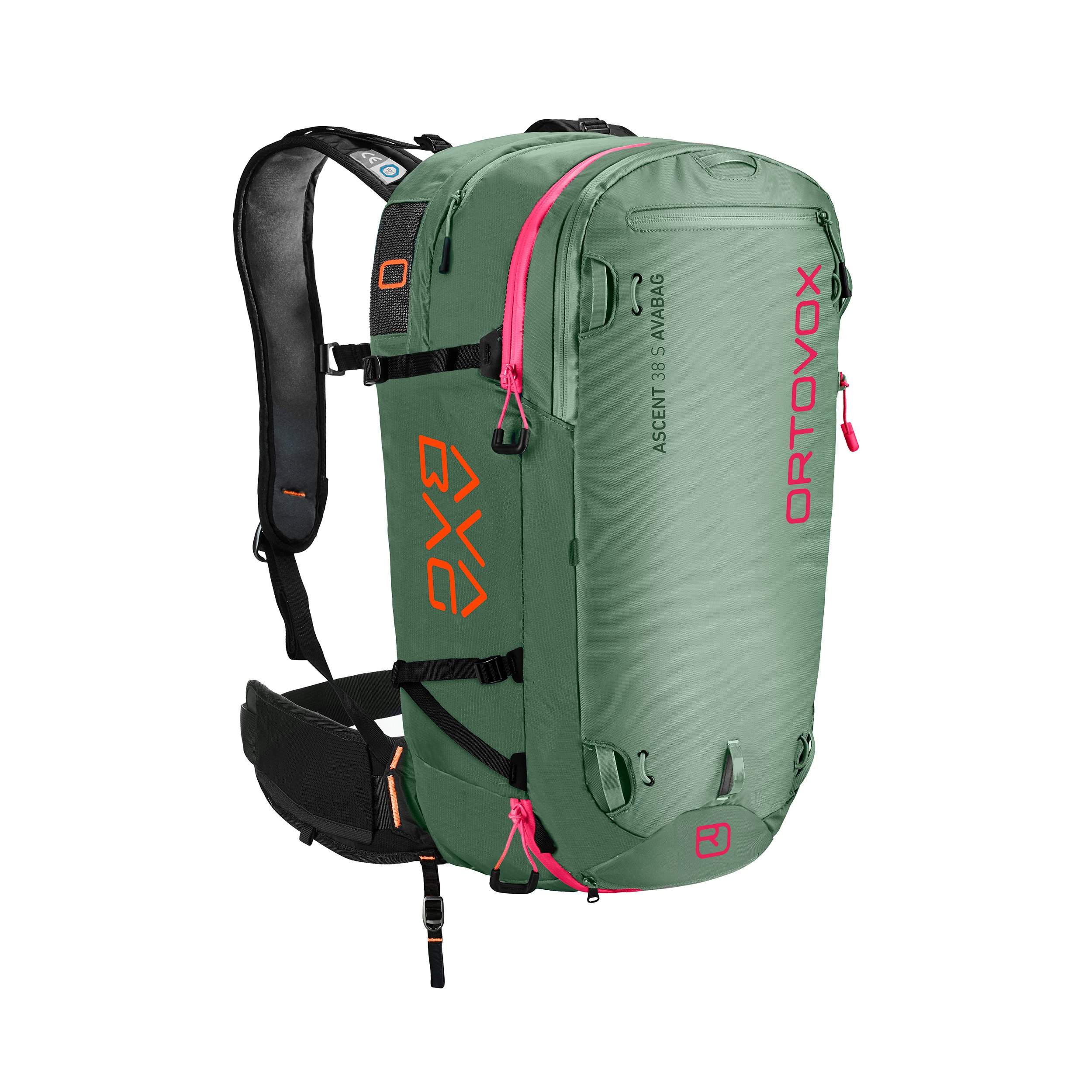 Ortovox Ascent 38 S Avabag - Green Isar