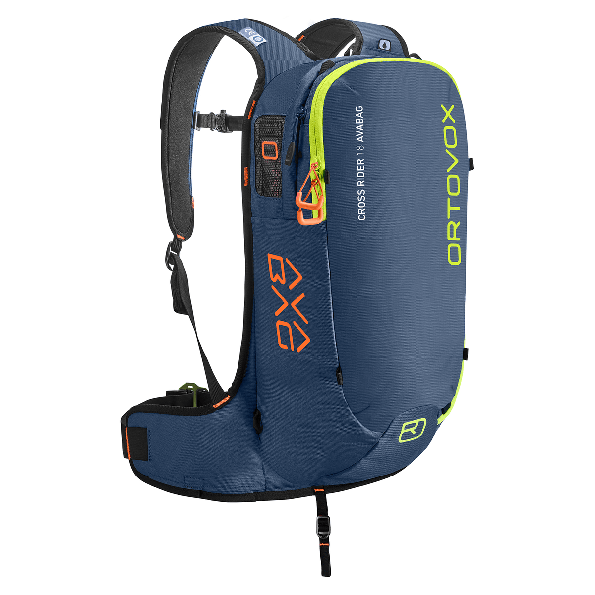 Ortovox Cross Rider 18 Avabag - Night Blue