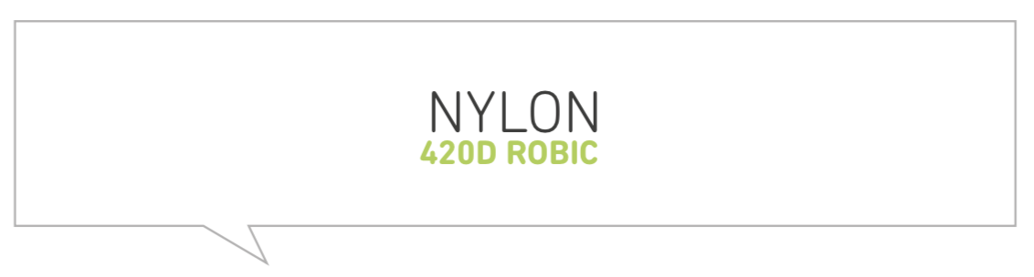 Freeride Nylon 420D Robic Material