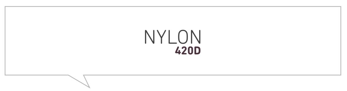 Tour Series Nylon 420D Manstar Material