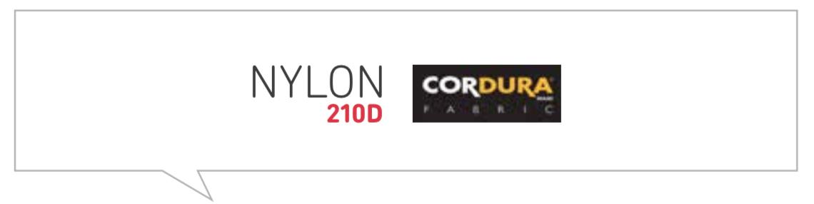 Tour Series Nylon 210 D Codura Material