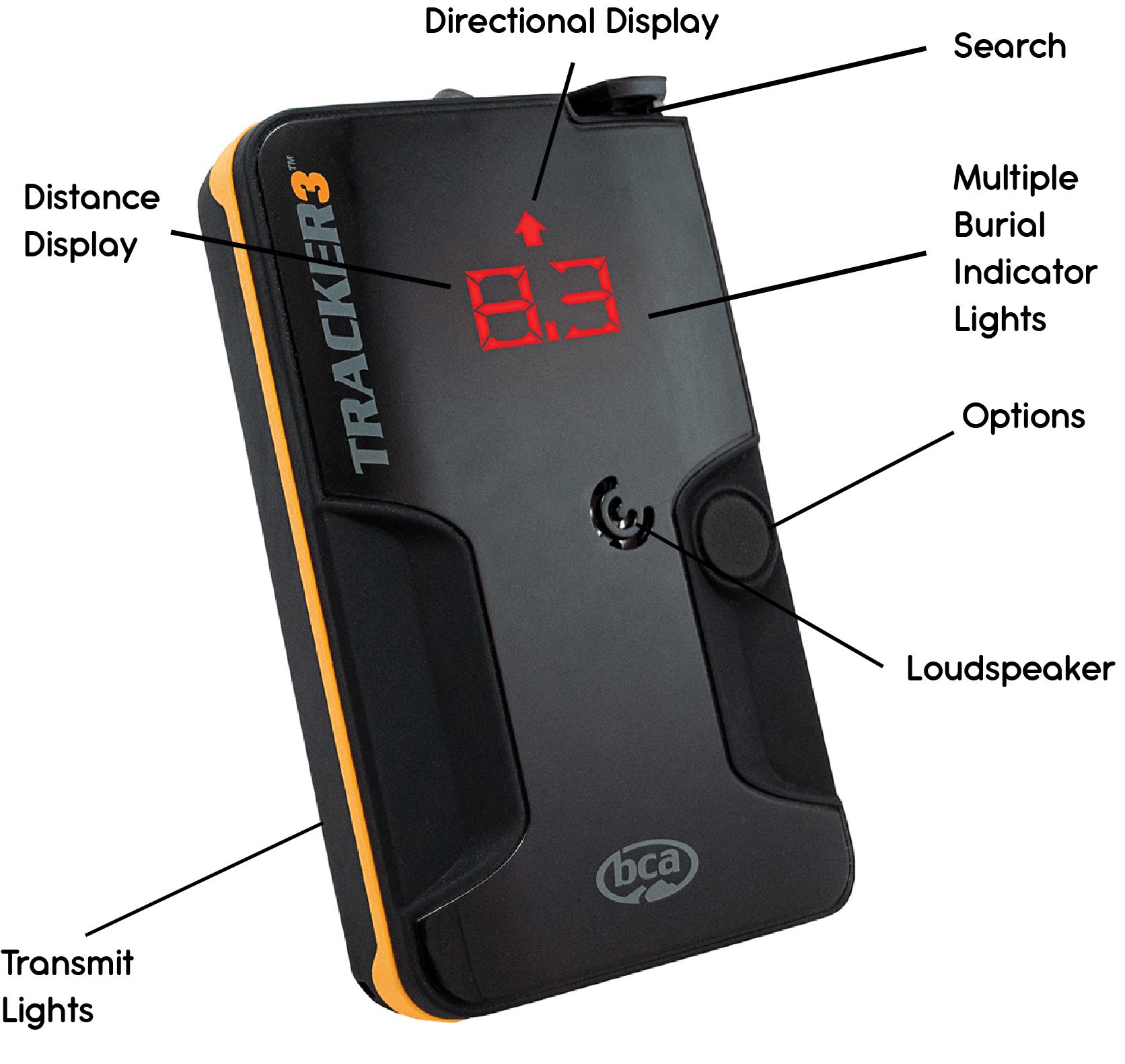BCA Tracker 3 Features