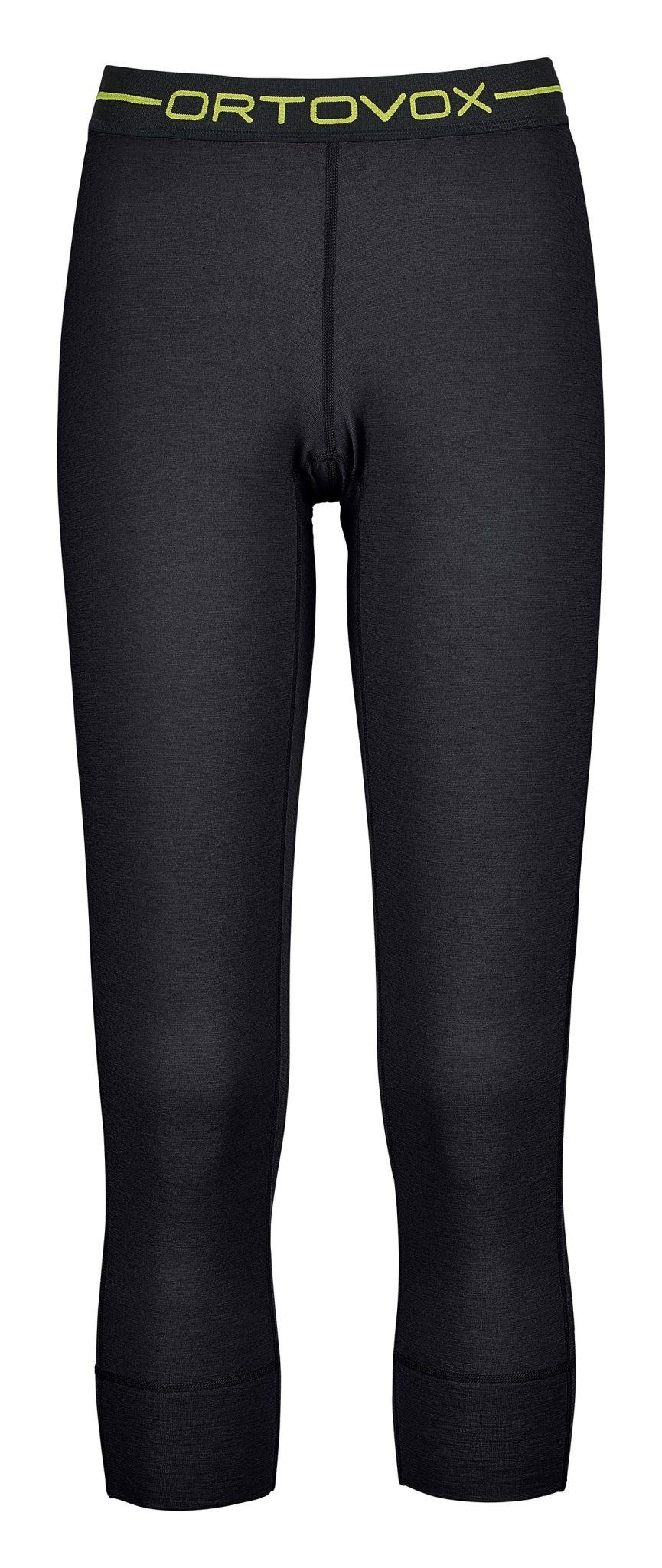 Ortovox Women's 145 Merino Ultra Short Pants - Black Raven
