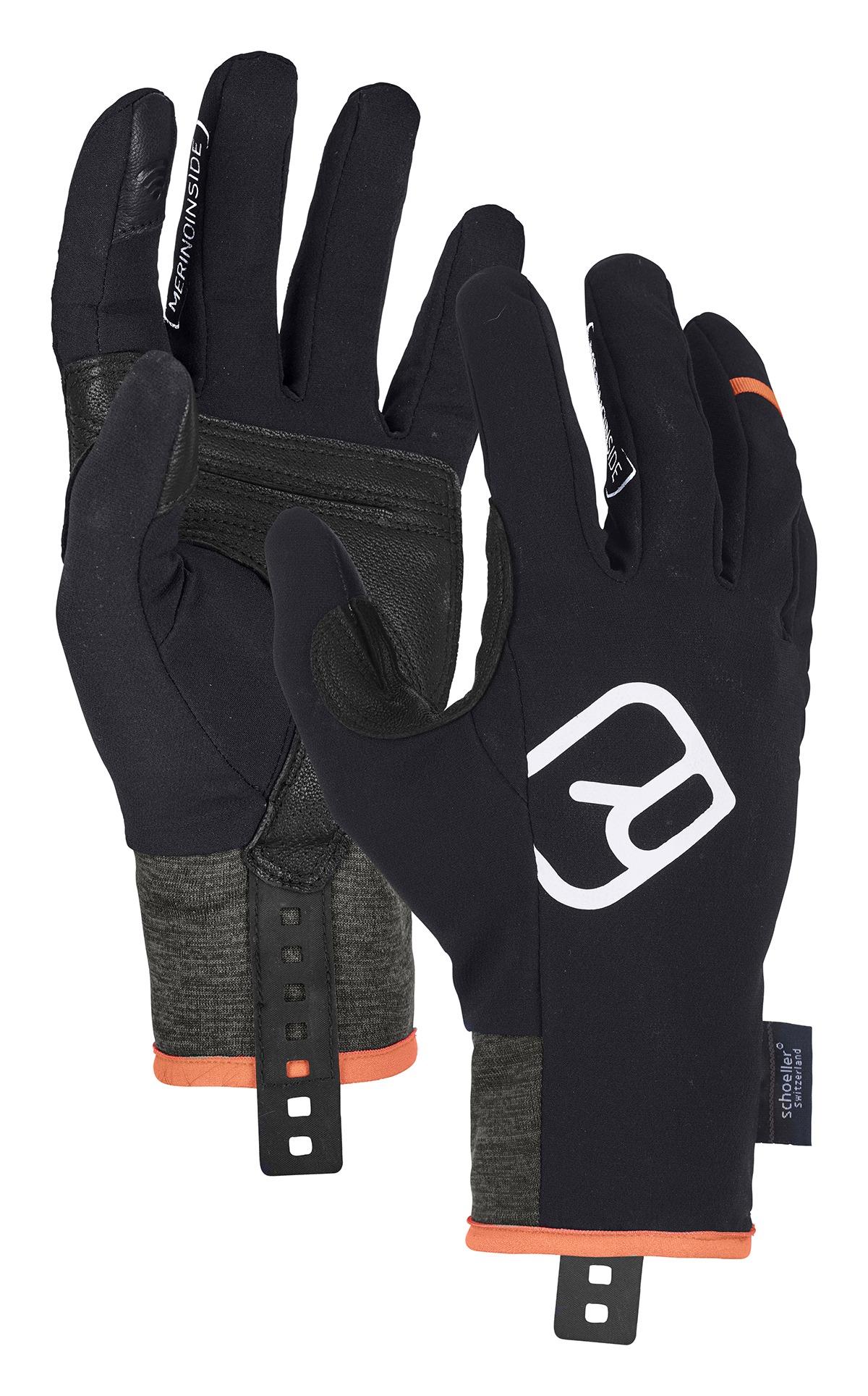 Ortovox Men's Tour Light Gloves - Black Raven