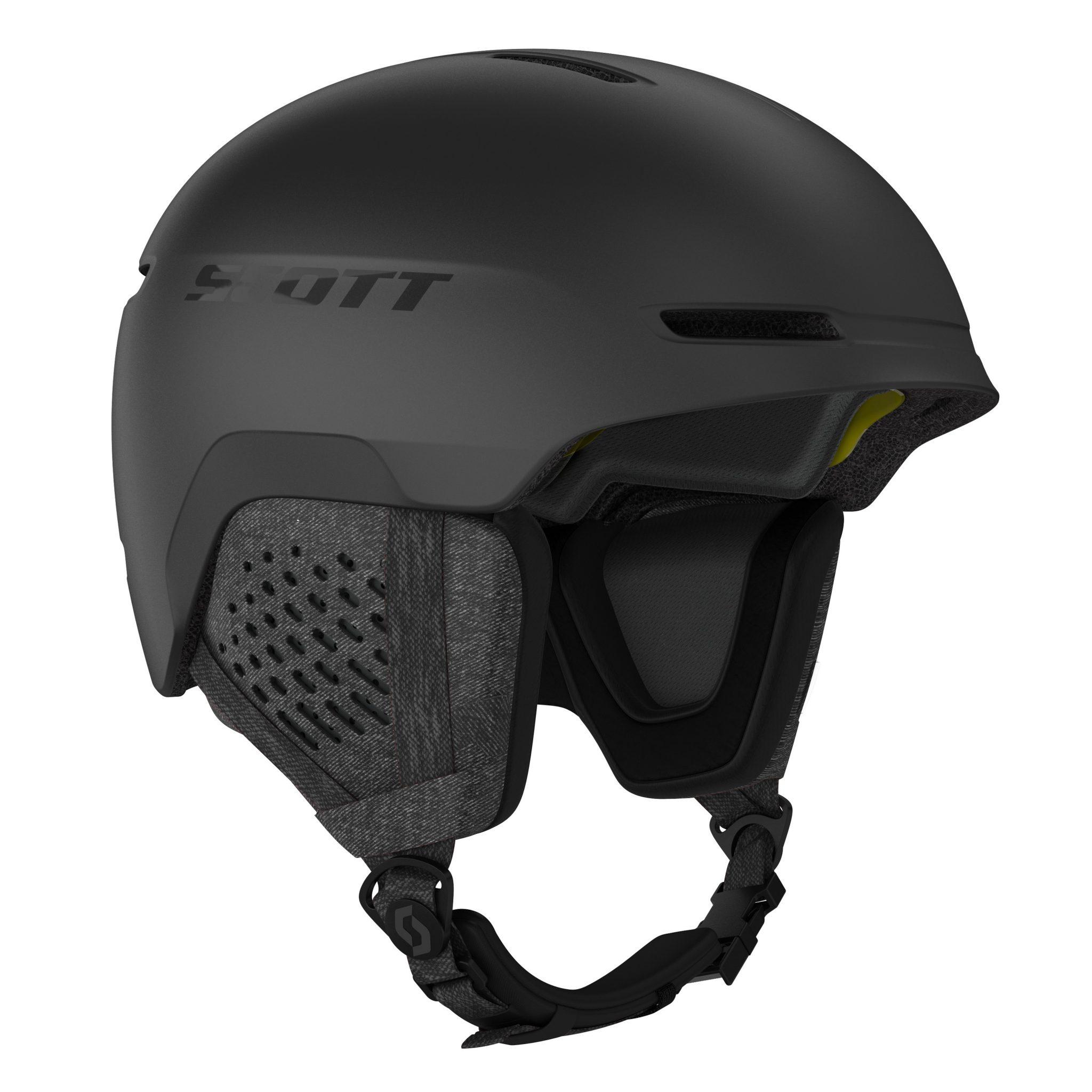 Scott Track Plus Helmet - Black
