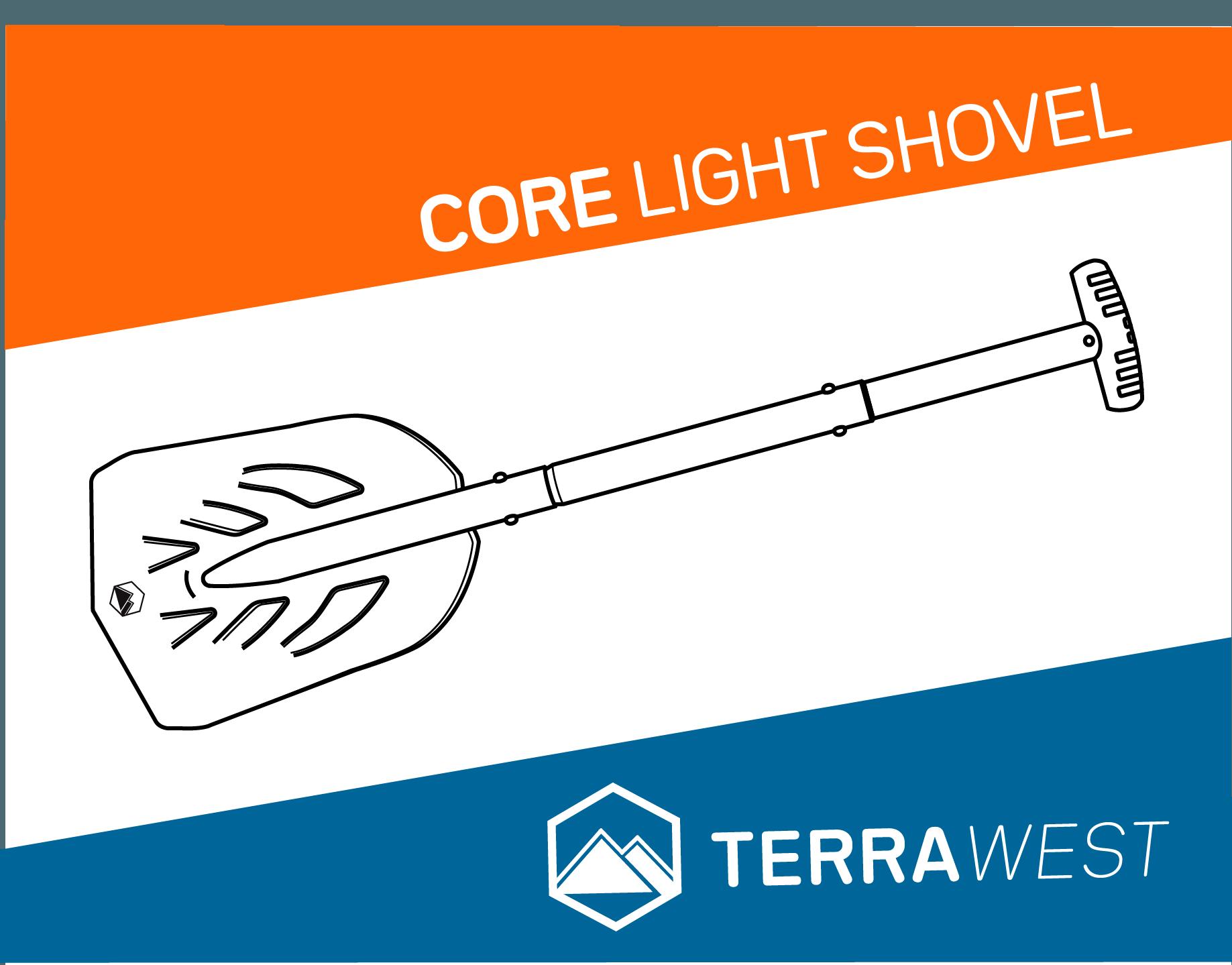 Terrawest Core Light Shovel