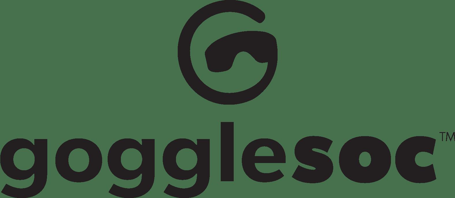 Gogglesoc Full Logo - Black