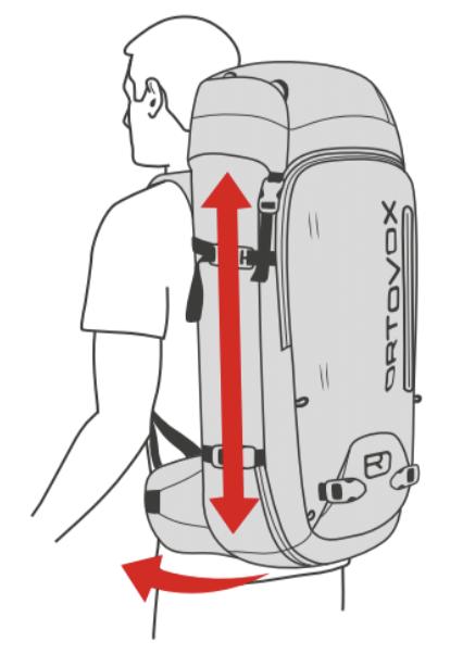 Regular size Ortovox Backpack