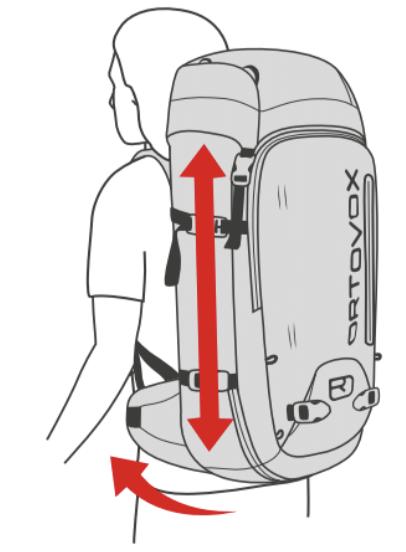 Short size Ortovox Backpack