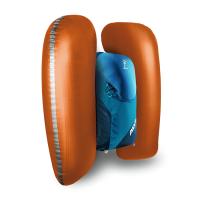 ABS Powder Base Unit - Side Inflatable Panels - Blue Ocean