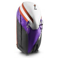 ABS Powder 26L Zip on Backpack Only - Featuring 2 Quick Access Side Compartments - Purple/Orange