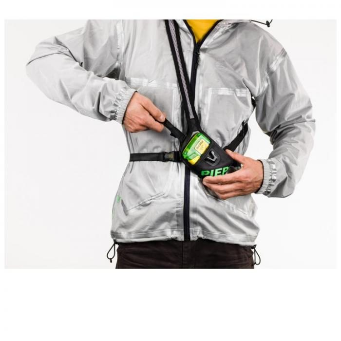 Protective Case and Harness To Wear Transceiver Outside of Clothes - Pieps DSP Sport Transceiver