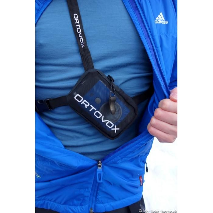 Over Clothes Harness and Bag Included - Ortovox 3 Plus Transceiver