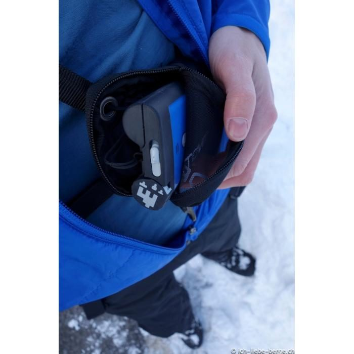 Safe and Secure Harness and Bag Included - Ortovox 3 Plus Transceiver