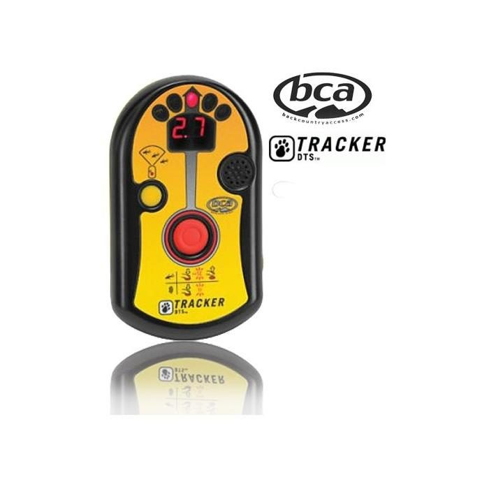 Logo and Front View - BCA DTS Tracker