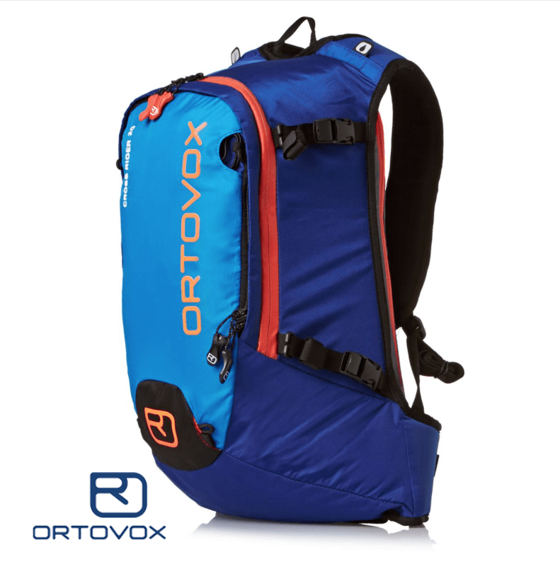 Front View - Ortovox Cross Rider 20 - Strong Blue