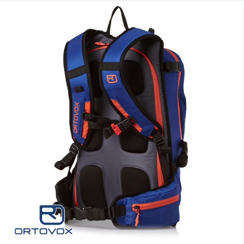 Back View - Ortovox Cross Rider 20 - Strong Blue