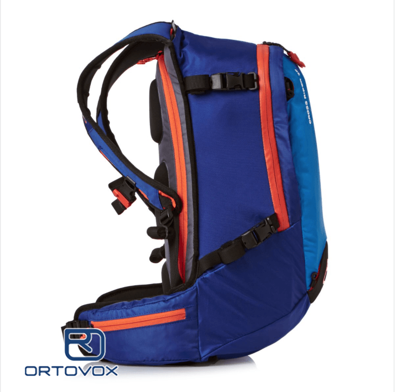 Side View - Ortovox Cross Rider 20 - Strong Blue