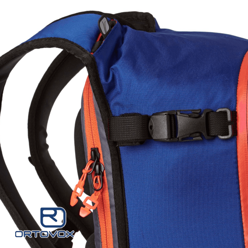 Load Control Straps - Ortovox Cross Rider 20 - Strong Blue