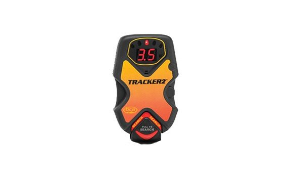 Front View and Digital Display - BCA DTS Tracker 2 Transceiver