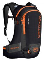 Ortovox Freerider 24 - Black Raven - Front View