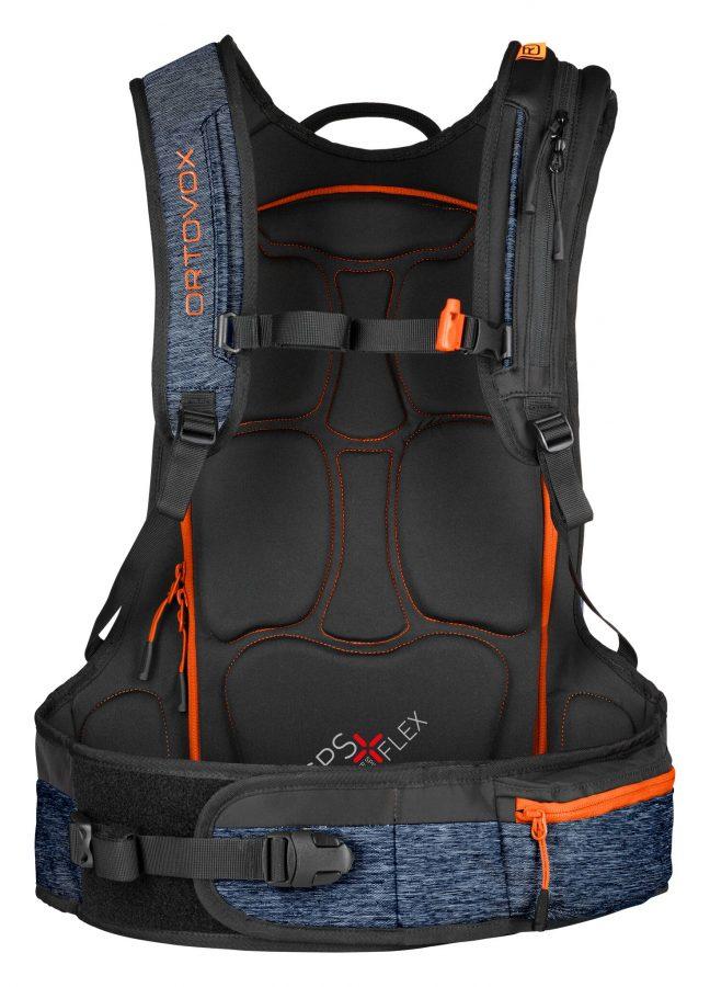 SPS Flex Back Protector - Ortovox Free Rider 24 - Night Blue Blend