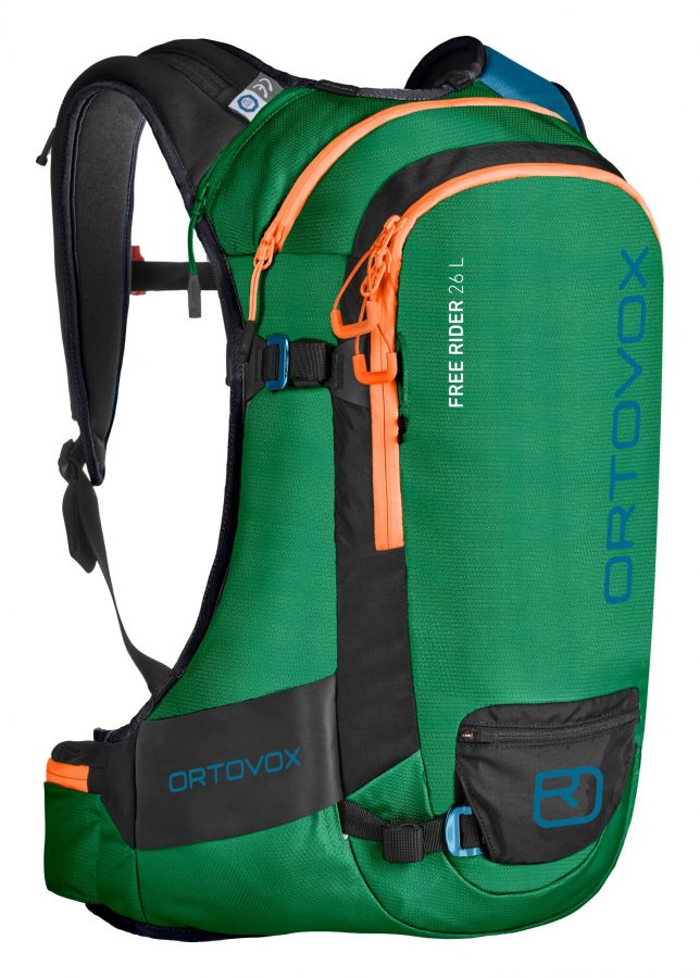 Front View - Ortovox Freerider 26 - Irish Green