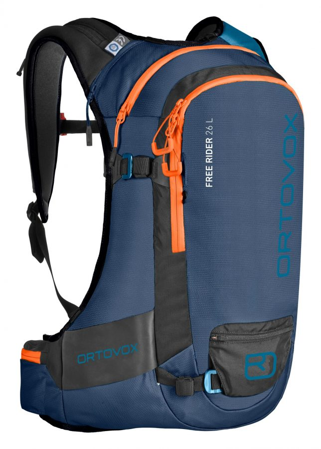 Front View - Ortovox Freerider 26 - Night Blue