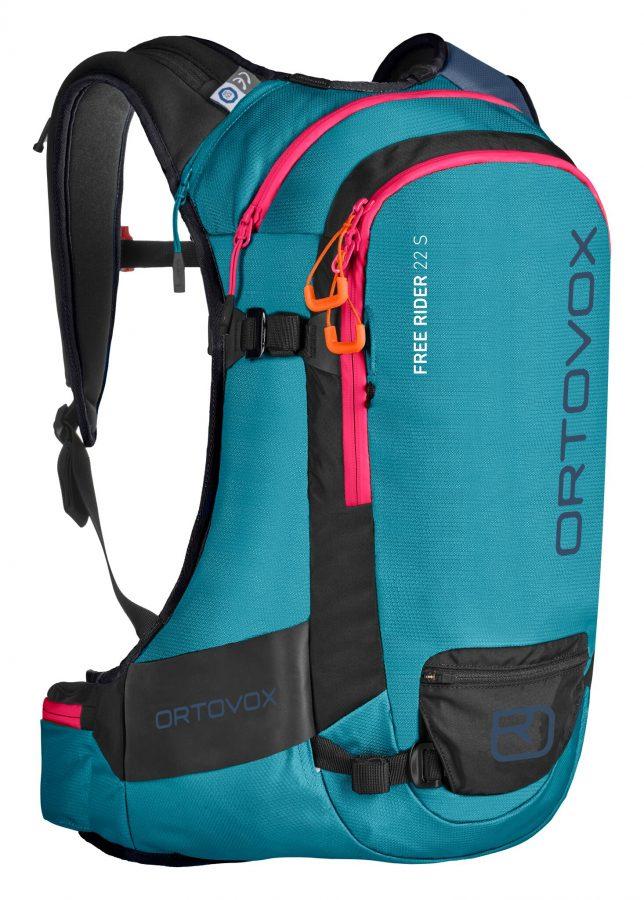 Front View - Ortovox Free Rider 22 S - Aqua