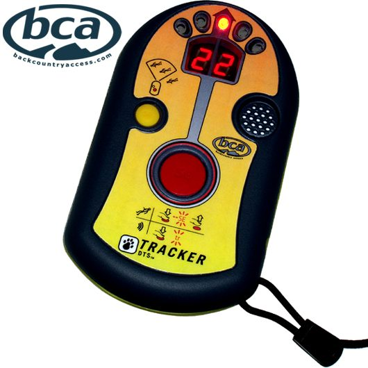 Front View Showing Search Button - BCA DTS Tracker