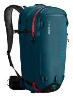 Ortovox Ascent 30 S Tour Series - Front View - Mid Aqua