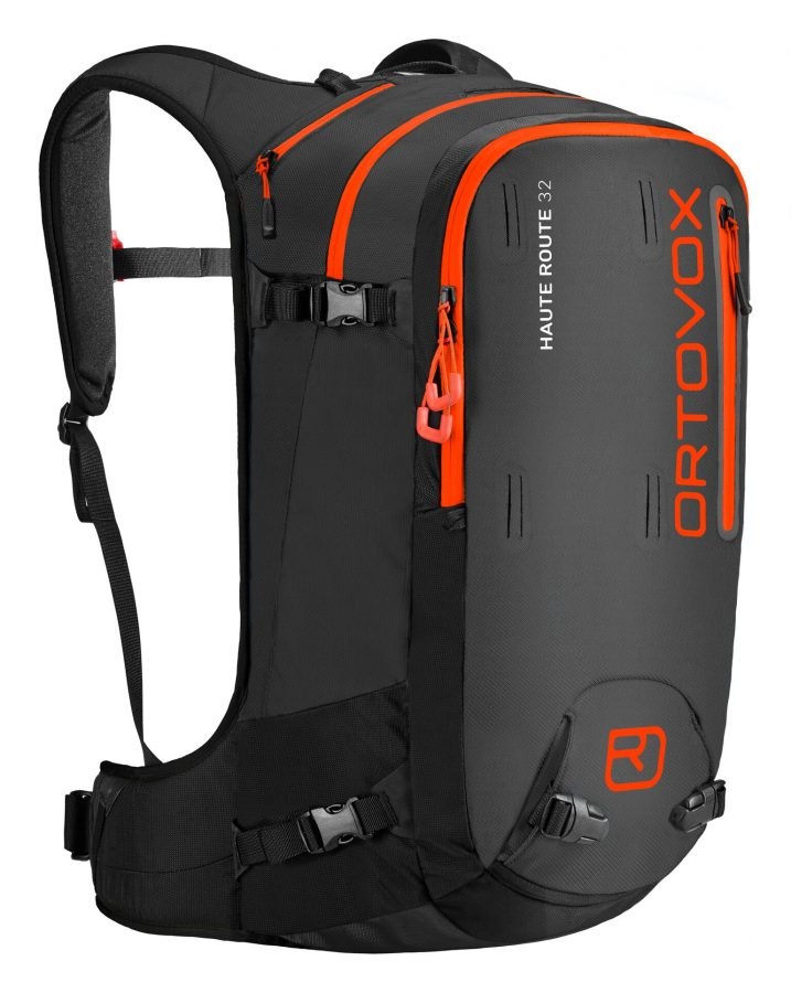 Front view - Ortovox Haute Route 32 - Black Anthracite