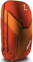 ABS Vario 18L Zip-on backpack - Red/Orange - Front View