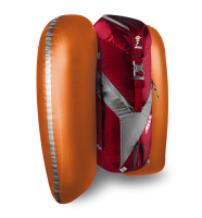 ABS Vario 45+5 Zip-on - Red/Grey - Inflated Airbag