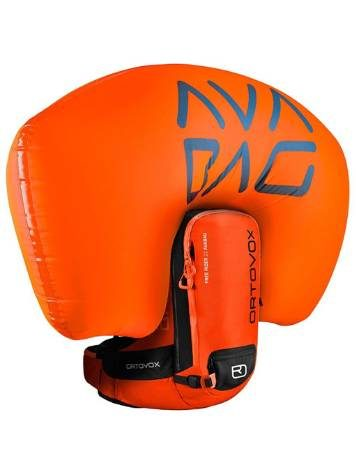 Inflated Airbag - Ortovox Freerider 22 Avabag - Crazy Orange