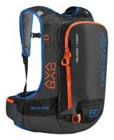 Ortovox Freerider 22 Avabag - Front View - Black Anthracite