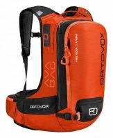 Ortovox Freerider 22 Avabag - Front View - Crazy Orange