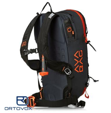Side View - Ortovox Ascent 22 Avabag - Black Anthracite